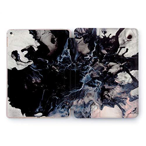 - Wonder Wild Black Marble Apple iPad Pro Case 9.7 11 inch Mini 1 2 3 4 Air 2 10.5 12.9 2018 2017 Design 5th 6th Gen Clear Smart Hard Cover Skin Texture Print Stand Unique Boss Gift Stone Rock Splash
