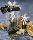Elegant starfish design bottle stopper favors (Set of 48)