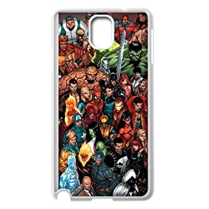Marvel comic 015 Samsung Galaxy Note 3 Cell Phone Case White TPU Phone Case RV_686044