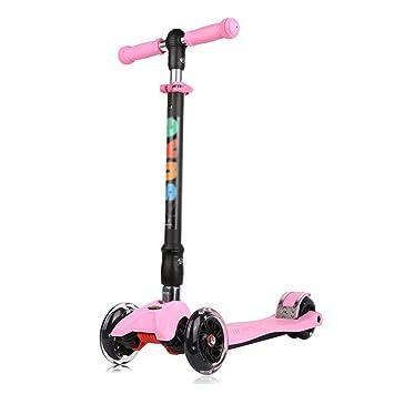 Patinete- Scooter para niños de 2-12 años de Edad Plegable 3 ...
