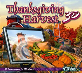 Thanksgiving Harvest 3D Screensaver by SelectSoft Publishing