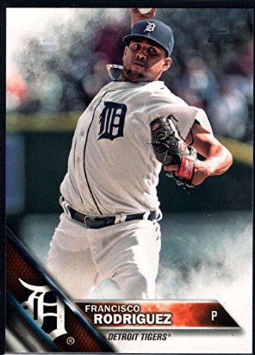 (Baseball MLB 2016 Topps Update #US269 Francisco Rodriguez NM-MT Tigers)
