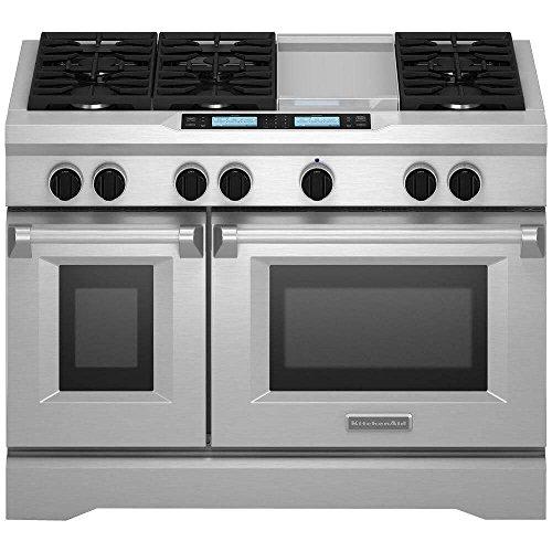 Kitchenaid KDRU783VSS Commercial Style Dual Range product image