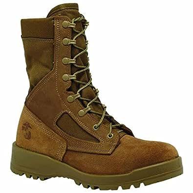 Belleville Men's 550 ST USMC Hot Weather Steel Toe Boot (EGA) -3 D(M) US