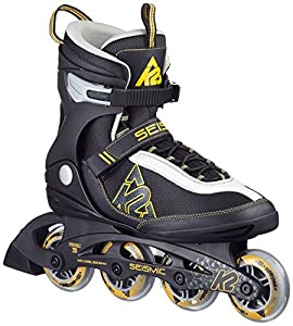 K2 Herren Inline Skate Seismic 80, Mehrfarbig, 10, 30A0727.1.1.100