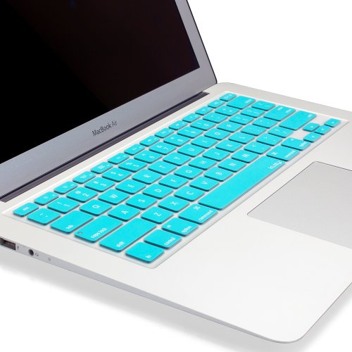 TEAL Hot Blue Keyboard Cover Silicone Skin For