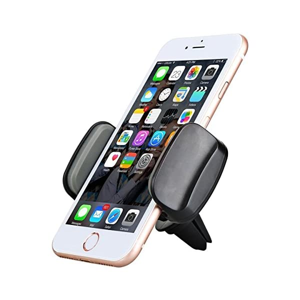 Car Phone Holder, AEDILYS Air Vent Car Mount Phone Holder With 360° Rotation For IPhone X/iPhone 8/7/7 Plus/6S/6 Plus 5S SE, Samsung Galaxy S7/S6 Edge/S6/S8