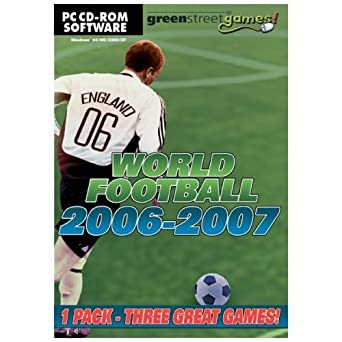 Amazon World Football 2006 2007 EU Soccer PC CD Including