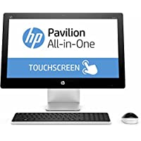 HP Pavilion All-in-One 23 Full HD Touchscreen Premium Desktop PC, Intel Core i3-4170T 3.20 GHz, 6GB RAM, 1TB 7200RPM HDD, DVD, WIFI, Bluetooth, Webcam, Wireless Keyboard & Mouse, Windows 10 Home