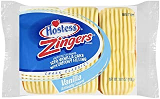 product image for Hostess Vanilla Zingers 3.81 Oz, Pack of 36