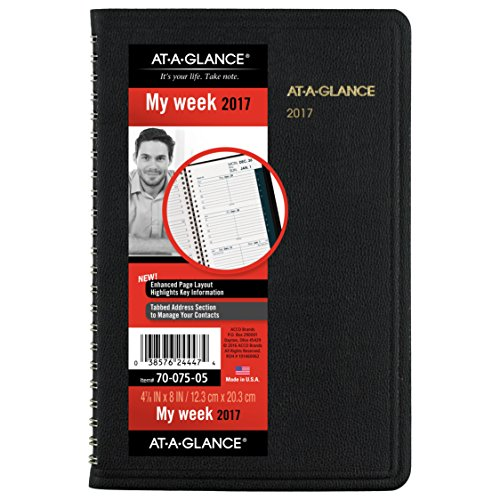 GLANCE Weekly Appointment Planner 70 075 05