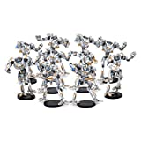 DreadBall Chromium Chargers Robot Team (10 Figures)