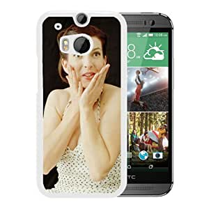 Beautiful Designed Cover Case With Rosie Thomas Girl Hands Dress Shoulders (2) For HTC ONE M8 Phone Case
