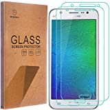 Mr Shield Tempered Glass Screen Protector for Samsung Galaxy J7 - 2-Pack