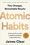 Books : Atomic Habits: An Easy & Proven Way to Build Good Habits & Break Bad Ones