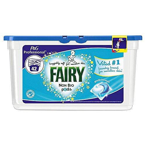 Detergente Non Bio Pod de Fairy para 126 lavados (3 con 42 ...