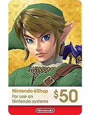 $50 Nintendo eShop Gift Card [Digital Code]