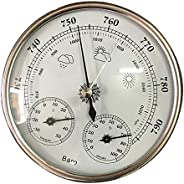 oshhni Medidor de Umidade Termohigrômetro Termômetro de Sala de Controle de Temperatura Analógico