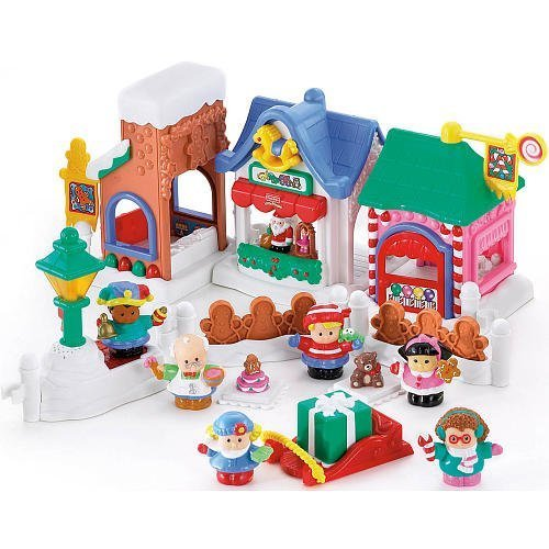 Amazon.com: Little People Christmas on Main Street: Toys & Games