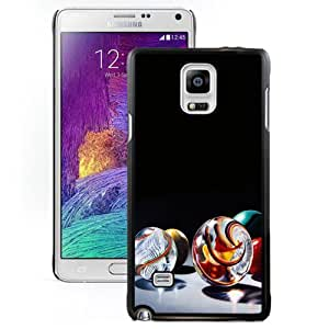 Beautiful Custom Designed Cover Case For Samsung Galaxy Note 4 N910A N910T N910P N910V N910R4 With Colorful Glass Balls Phone Case Cover