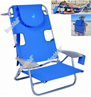 Padded Ostrich 3 N 1 Beach Chair Lounger With Side Tray