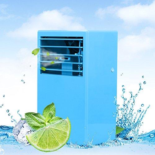 LUCKSTAR Desktop Air Conditioning Fan - Quiet Personal Mini Fan Air Cooler for R by LUCKSTAR
