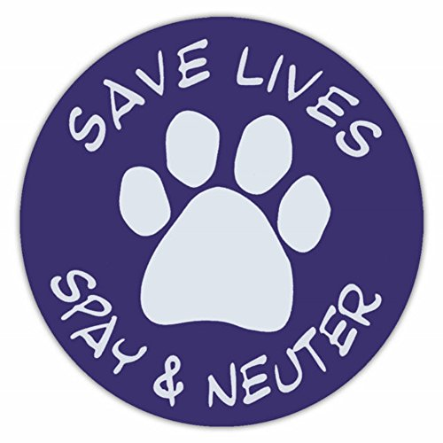 Save Lives Spay and Neuter Magnet - Neuter Magnet