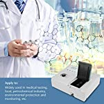 Spectrophotometer Visible Spectrometers Digital Display Spectrometer Wavelength Range 350-1020nm for Medical Testing…