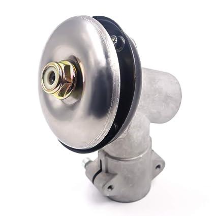 Cabezal Reductor de Recambio Para Cortador de Césped y Cortacésped (28 mm tubo, 9