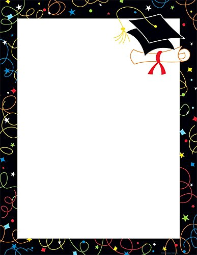 - Great Papers! Grad Swirls Letterhead, 50 Count, 8.5
