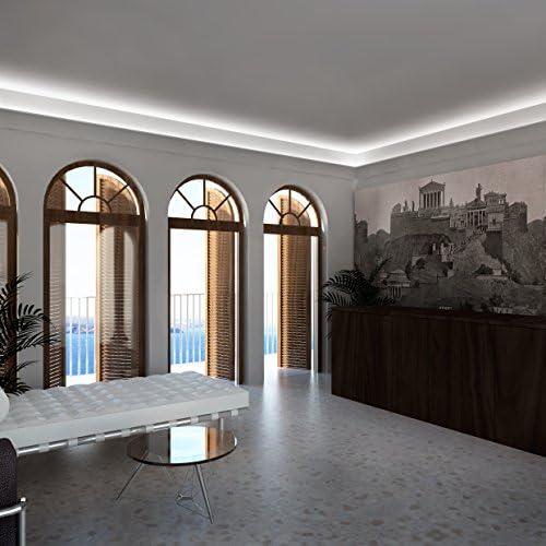 Molto Cornice per illuminazione indiretta led a soffitto - EL708 (2 metri) FE97