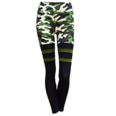 697544bc36 Michelle&A Women's Camouflage with Mesh Leggings Breathable Yoga Pants Gym  Trousers Workout Tights: Amazon.co.uk: Clothing