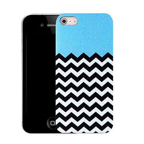 Mobile Case Mate IPhone 4 4S clip on Dur Coque couverture case cover avec Stylet - blue energetic Motif