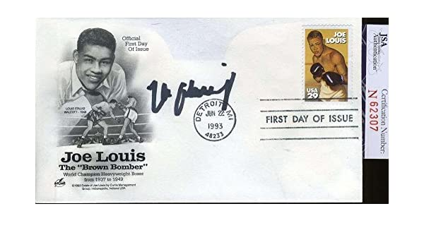 721db8bd84e Max Schmeling Certified Fdc Authentic Autograph - JSA Certified - Boxing  Cut Signatures at Amazon s Sports Collectibles Store