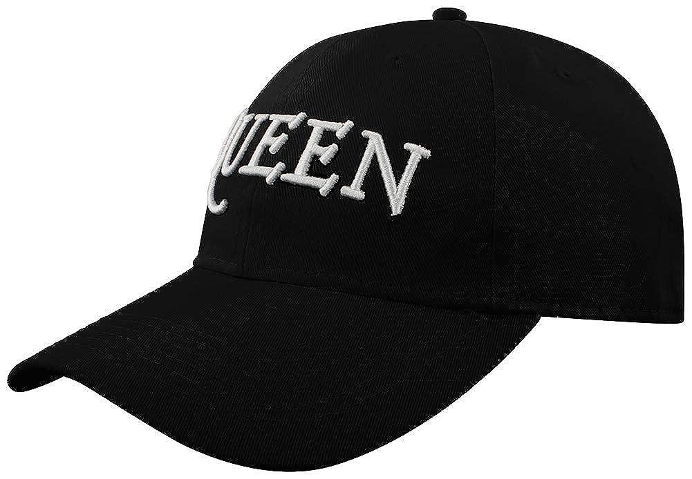 Queen Baseballcap Logo Baseball schwarz