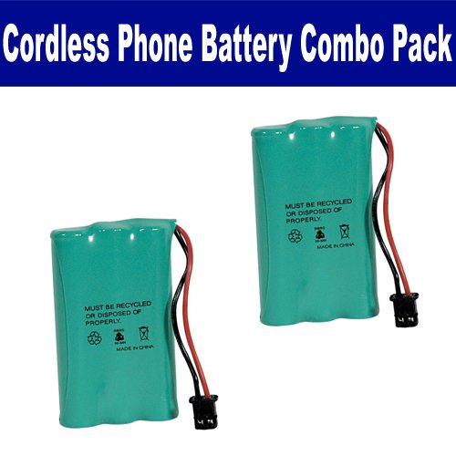 Rayovac RAYM182 Cordless Phone Battery Combo-Pack includes: 2 x BATT-446 Batteries, Office Central