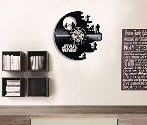 Vinyl Evolution Star Wars Death Star Darth Vader Princess