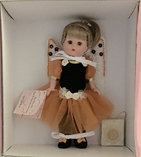 Madame Alexander LE Orange & Black Miss Butterfly Doll with Lenox Ornament -