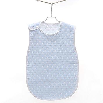 CYDKZMEPA Saco de Dormir para bebé, Saco de algodón de Gasa, Saco de Dormir