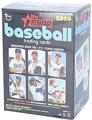 2020 Topps Heritage Baseball Factory Sealed 8 Pack Value Box - Baseball Complete Sets