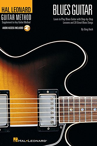 - Hal Leonard Guitar Method - Blues Guitar: 6 inch. x 9 inch. Edition (Hal Leonard Guitar Method (Songbooks))