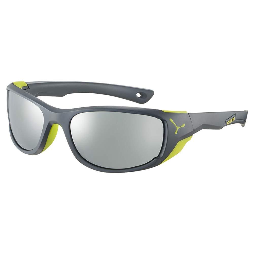 C/éb/é Jorasses M Gafas de Sol Adultos Unisex Matt Grey Lime Medium