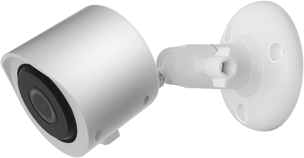 Aobelieve Outdoor Wall Mount and Cover for Yi Home Camera 3, White, 1-Pack
