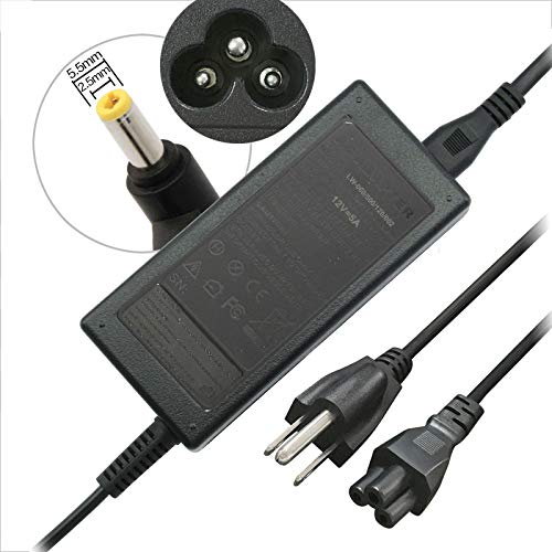 Fancy Buying AC Adapter/Power Supply/Charger for HP LCD Pavilion 1503 D5061-A F1503 1703 F1703 L1800+US Power Cord (Hp Pavilion F1503 Power Cord)