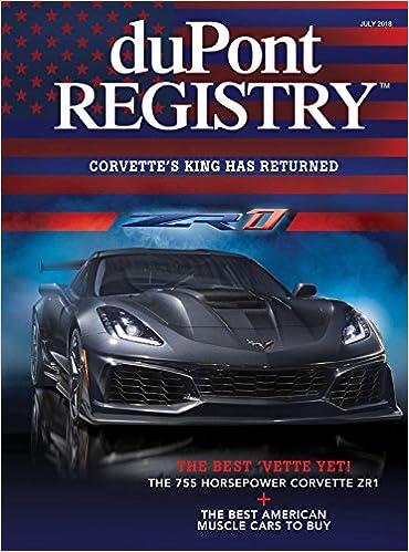 Dupont Registry Autos July 2018 Dupont Registry Amazon Com Books