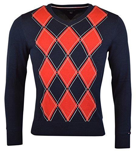 eb67bcea Tommy Hilfiger Mens Argyle Pullover Sweater | Weshop Vietnam