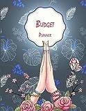Budget Planner: Beauty Blue Floral, Monthly Money Planner, Budget Planner Organizer: Spending Tracker, Debt Repayment Plan, Bill Payment Tracker 128...