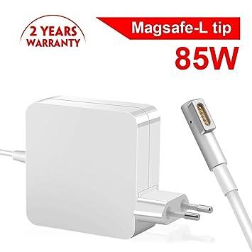 85W Cargador Mac Book Pro, Eletrand Mac Book Cargador MagSafe 1 Forma de L Adaptador de Corriente Funciona con los Macbook 45W / 60W / 85W MacBooks ...