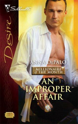 book cover of An Improper Affair