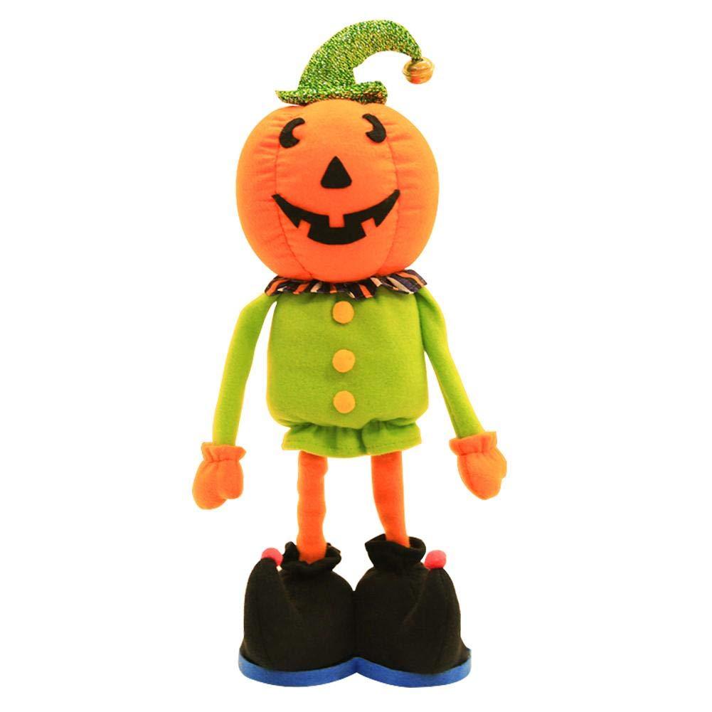 Prosperveil Allungare la decorazione di Festival di bambola stagnante stagnante stagnante Non tessuta di Halloween (Zucca) 944cd6